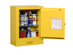Justrite Mini Aerosol Storage Cabinet