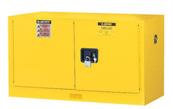 Justrite piggyback Safety Cabinet