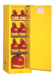Flammable Slimline Safety Cabinet - 22 Gallons