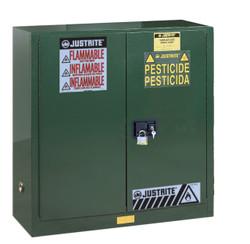 Justrite Pesticide Storage Cabinet