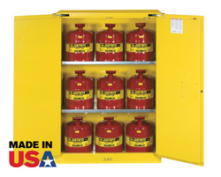 45 Gallon Safety Cabinet w/9 Safety Cans