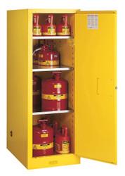 Justrite Flammable Slimline Storage Cabinet