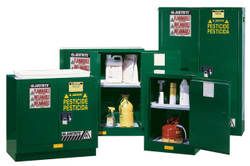 Justrite Pesticide Safety Cabinet