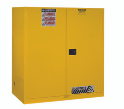 Justrite Flammable Double Drum Safety Cabinet