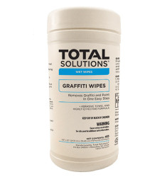 Graffiti Removal Wipes - 40 Count/6 Canisters Per Case