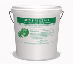 5 Gallon Pail Green Fire