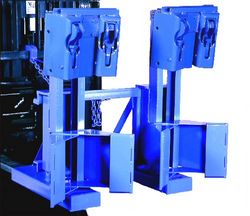 Morse Forklift Attachment for Two Drums