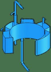 Morse Drum Adaptor