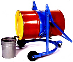 Morse Mobile Drum Lifter, Pourer & Dispenser