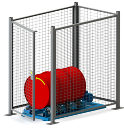 Morse Guard Enclosure for Drum Roller