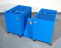 Morse Double Can Tumbler Safety Enclosure