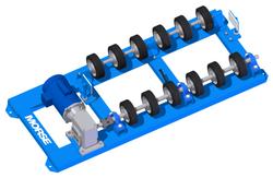 Morse Drum Roller Option for Plastic Drums