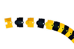 Ultra-Sidewinder - 1 Foot Extension System - Black & Yellow - Small