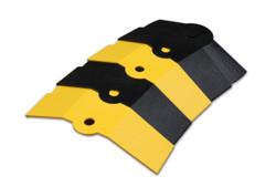 Ultratech Sidewinder Black & Yellow Medium 1 Foot Extension