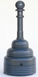 Eagle SafeSmoker Cigarette Receptacle - Gray - 4 Gallons