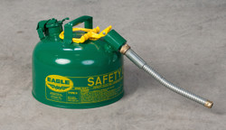 Eagle Green Safety Can