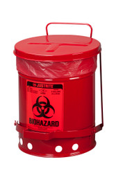 Bio Hazard Waste Can - 6 Gallons