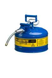 Blue 2.5 Gallons Safety Can