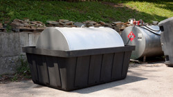 Eagle Tank Containment Sump - 550 Gallon with Drain
