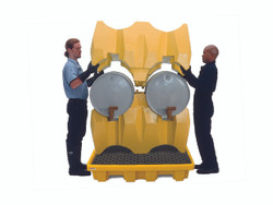 Ultra-Drum Rack System - 4 Drum No Drain - 2380