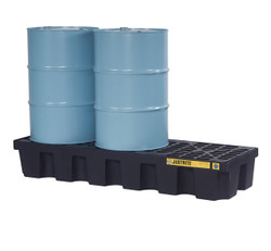 Justrite EcoPolyBlend 3 Drum Pallet