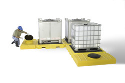 Ultra Indoor IBC Modular Spill Containment Pallets