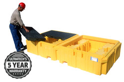 Tote Spill Containment Pallet