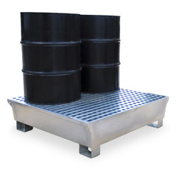 Ultratech 4 Drum Steel Containment Pallet - 1182