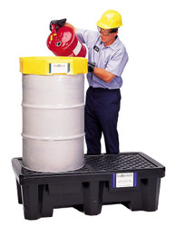 Ultra P2 2 Drum Spill Containment Pallet