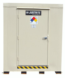Justrite 16 Drum Outdoor Safety Locker