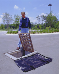Storm water grate filter