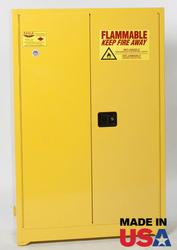 45 Gallon Flammable Storage Cabinet - Manual Close