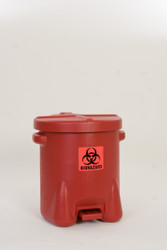 Bio Hazard Waste Can
