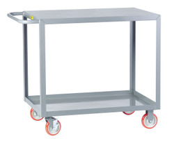 Flush Steel Top Service Cart