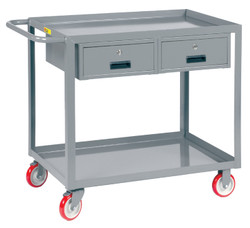 Service Cart with Drawers