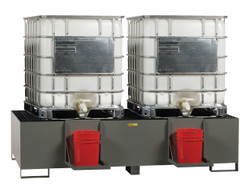 Double IBC Containment Unit