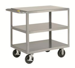 Heavy Duty Industrial Cart w/3 Shelves