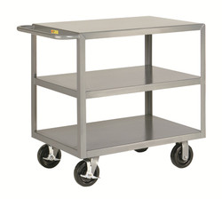 Heavy Duty Industrial Cart w/3 Shelves