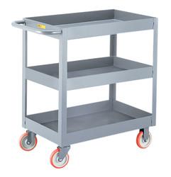 Little Giant Industrial Cart w/3 Shelves