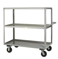 3 Shelf Industrial Cart