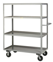 4 Shelf Industrial Cart