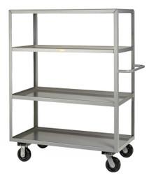 4 Shelf Industrial Cart