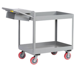 """Picking Cart w/3"""" Deep Shelves"""