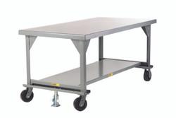 Workbench with Floor Lock