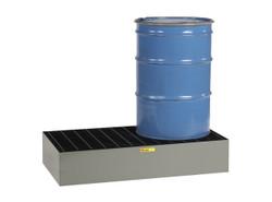 2 Drum Steel Spill Pallet