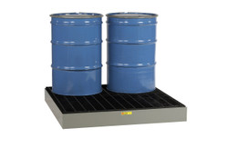 4 Drum Steel Spill Containment Pallet