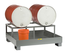 2 Drum Platform with Drum Rack