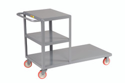 Combo Shelf and Platform Truck