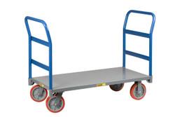 Double Handle Platform Cart
