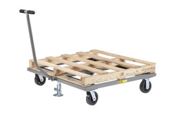 Pallet Cart w/Floor Lock